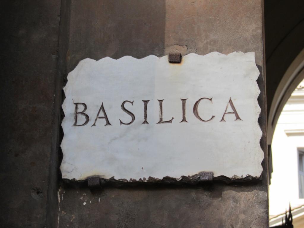 Архив. Базилика святых Вонифатия и Алексия в Риме. (Santi Bonifacio e Alessio) Рассказ посвящается всем Алексеям, которых я знаю.