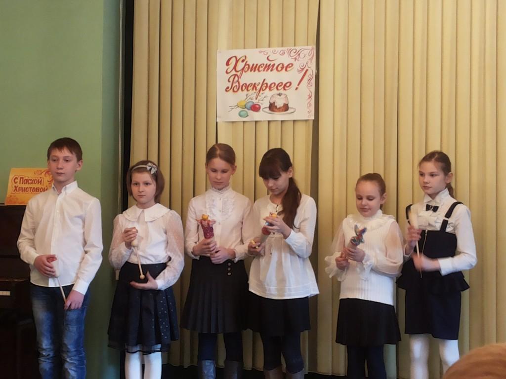 Занятие в Детском православном клубе в воскресенье 19 апреля