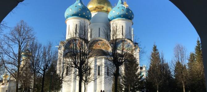 Паломничество в Троице-Сергиеву лавру через Радонеж и Хотьково. Фотогалерея. 8 февраля 2016 г.