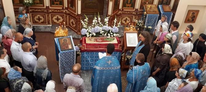 Праздник Успения в нашем храме