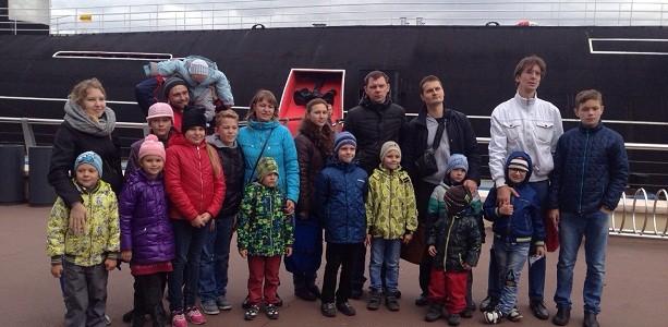 Экскурсия Детского клуба в Музей ВМФ России