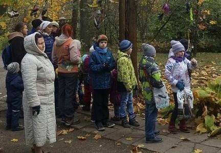 Экскурсия младшей группы Детского православного клуба в дом-музей К.И. Чуковского