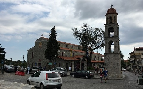 Храм святителей Николая и Спиридона в Литохоро (Греция)