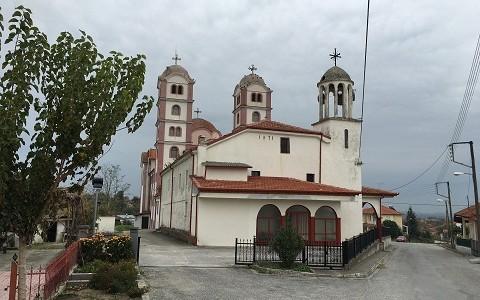Храмы городка Кондариотисса в окрестностях Катерини (Греция)