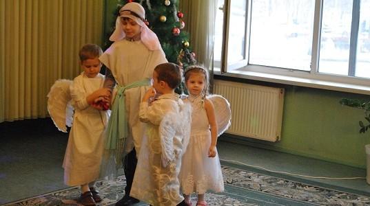 Детский Рождественский праздник. 14 января 2017 г.