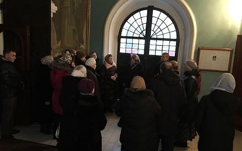Приходское паломничество в храм Тихвинской иконы Божией Матери в Алексеевском