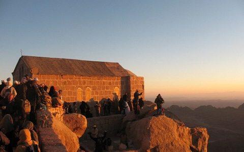 Восхождение на Синайскую гору. Фото 2008 г.