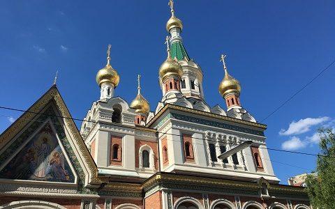Свято-Никольский кафедеральный собор в Вене (Австрия)