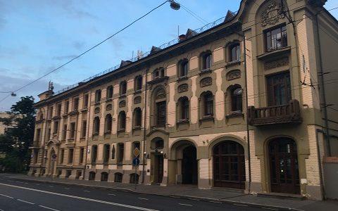 Место, где преставился патриарх Тихон в 1925 году. Фото июнь 2017 г.