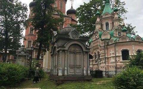 Некрополь Донского монастыря. Июнь 2017г.