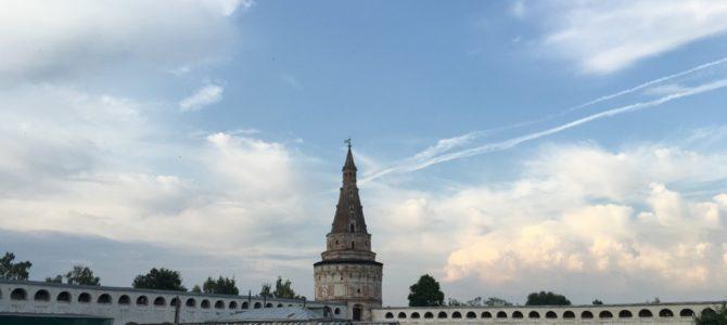 Жемчужина Подмосковья. Иосифо-Волоцкий монастырь. Фото август 2017 г.