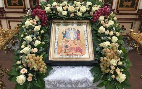 Праздник Преображения в нашем храме. 19 августа 2017 г.