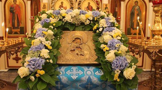 Богослужения в праздник Сретения Владимирской иконы Божией Матери