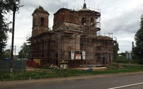 Храм иконы Божией Матери «Знамение» в Ивановском (г. Волоколамск)