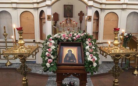 Богослужение в день памяти преподобного Амвросия Оптинского. 23 октября 2017 г.