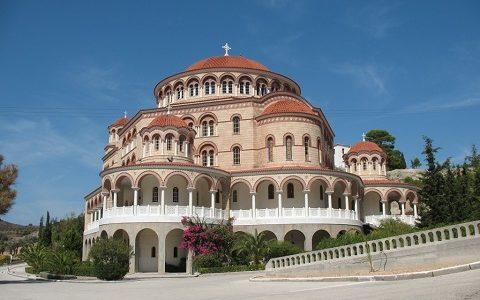 <i>Архив. </i>Храм святителя Нектария на острове Эгина. Фото 2009 г.