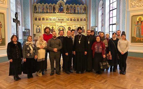 Паломническая поездка в Московский епархиальный дом