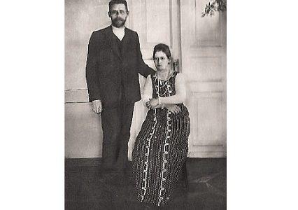 Фрагменты дневника прабабушки отца Владислава, посвященные знакомству с будущим мужем