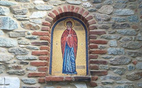 Монастырь Божией Матери Олимпийской в городке Элассон. Февраль 2017 г.