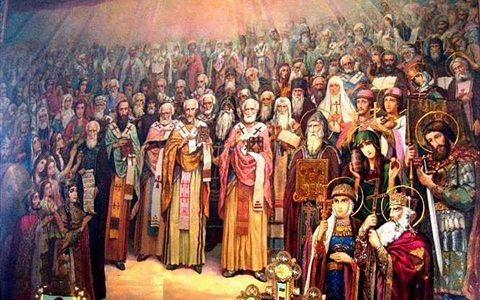 Проповедь в день памяти всех святых в земле Русской просиявших. 9 июня 2018 г.