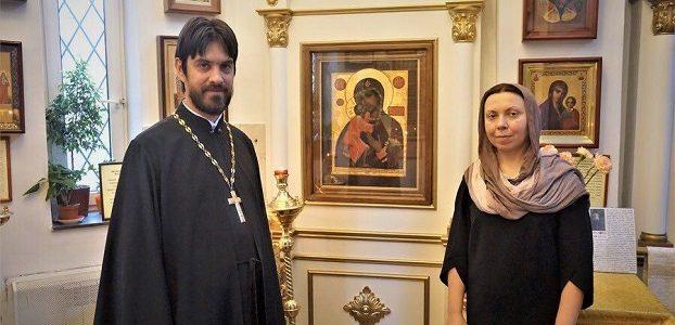 Поздравляем отца Владислава и матушку Ангелину с двадцатилетием венчания!