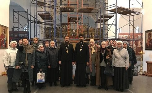 Состоялась паломническая экскурсия в Храм Живоначальной Троицы